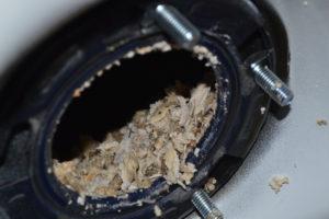 sediment build up inside water heater