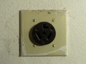 240 volt electrical outlet